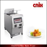 Friggitrice aperta di vendita di Cnix Ofg-321 della cucina del gas caldo della strumentazione