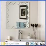 Specchio smussato della parete di Frameless di grande rettangolo per la decorazione