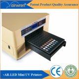 Impresora plástica de inyección de tinta de Digitaces de la talla plana ULTRAVIOLETA de la impresora A3 con la tinta blanca