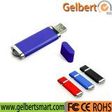 Disque en plastique de flash USB de cadeau de logo fait sur commande pour la promotion