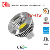 50mm 옥수수 속 LED 5W 3000k MR16 12V 스포트라이트 Dimmable