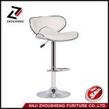 安い現代多彩な革旋回装置快適な棒椅子Zs-1019