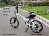 faltbares elektrisches Fahrrad 400W/faltendes e-Fahrrad bewegliches E-Fahrrad mit 6 10ah LiFePO4 Batterie