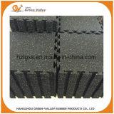 плитки резиновый циновок 3-12mm толщиные цветастые блокируя резиновый для гимнастики