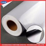 A mídia de impressão preto Vinil auto-adesiva PVC de cola