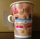 taza de papel disponible 9oz con el surtidor de la maneta