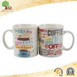 caneca de café cerâmica recém-nascida de 12oz China com Customer′ Pedido de S na fábrica de Hunan