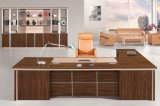 Muebles de Madera Modernos Oak Executive Computer Desk