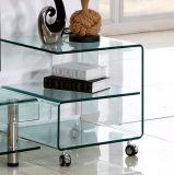 Mobilia di vetro di piegamento calda