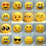 6inch Emoji 베개에 의하여 채워지는 견면 벨벳 장난감