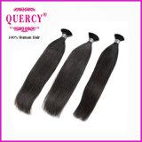 もつれのペルーに巻き毛に人間の毛髪の編むこと