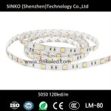 striscia di 30LEDs/M 7.2W 24V/12V 5050 LED
