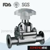 Нержавеющая сталь Трехсторонняя Гигиенический мембранный клапан (JN-DV1011)