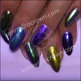 Pigmento cambiante della perla di arte del chiodo del Chameleon di colore di lustro & di luccichio