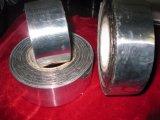 Cinta subterráneo del PE del abrigo del tubo de la anticorrosión del aluminio, envolviendo la cinta que contellea del conducto adhesivo, cinta butílica del polietileno