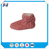 Últimas Design Hot Selling Knitted Warm Ladies Winter Boots
