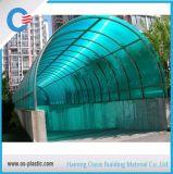 Tampa de folha de policarbonato para o telhado da piscina