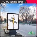Signes extérieurs de défilement tournant le panneau de stand de roulement de Lightbox-Advertising