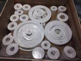 Blanco 100% virgen puro de hoja de PTFE Teflón