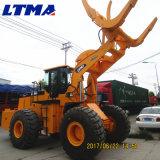China 18 Ton ATV Tractor Log Loader Prix