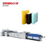 Hoja de la bolsa de alimentación de papel que hace la máquina Zb1200b