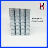 48h de permanente Sterke Magneten van de Schijf van de Magneet Zink Met een laag bedekte