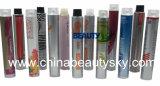 Empaquetado cosmético Crema Color de cabello vacío Tubo flexible plegable de aluminio