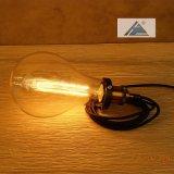 플러그 (C5006152)를 가진 유리제 전구 작풍 소켓 램프