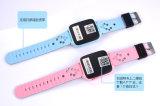 品質の子供T300の腕時計移動式SIMのカードGPSの追跡者の腕時計はGPSのスマートな腕時計をからかう