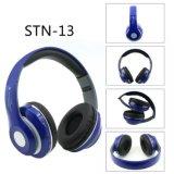 Auscultadores dinâmicos estereofónicos sem fio do fone de ouvido HD dos auriculares de Stn13 Bluetooth com o cartão do MP3 TF