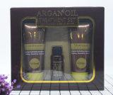 Insieme di trattamento dei capelli dell'olio del Argan del Marocco con l'estratto marocchino dell'olio del Argan