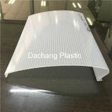Perfil de extrusão de plástico de PVC grande