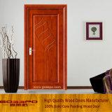 Mdf-Furnier-Blattraum-Tür mit dem Blumen-Schnitzen (GSP8-007)