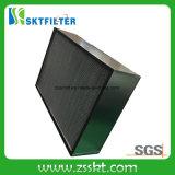 Uso profundo inoxidable del plisado del marco de acero para el filtro de aire industrial