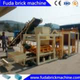 Máquina de fabricación de ladrillo eléctrica del bloque bloques de cemento huecos que hacen la planta