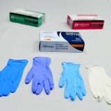 Медицинские одноразовые нитриловые перчатки порошок свободного M=3.5gr