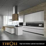 MDFマットの白い絵画木の台所家具(AP041)