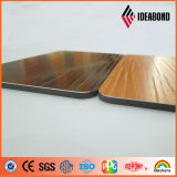 Novo Produto Ideabond Estampadas Touch Series Painel de parede em alumínio de madeira