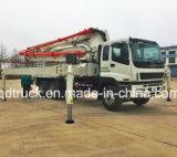 pompa per calcestruzzo montata camion di 37M, camion della pompa per calcestruzzo di ISUZU