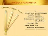 Кормя золотистые вибромашины штанги красотки ИМПа ульс с нержавеющей сталью