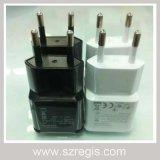 Adaptador UE/USA blanco/negro universal de la potencia de USB2.0 5V2a
