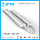 El departamento del LED enciende las guarniciones duales en flor de la luz del tubo T5 con UL ETL Dlc