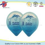 Reines Wasser-Plastikcup-Aluminiumfolie-Kappen