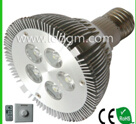 24W aluminio impermeable IP64 LED PAR38 luces