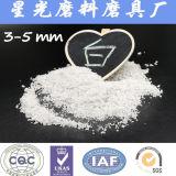 99,9% de Al2O3 fundido blanco de alúmina de chorro de arena Medios