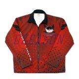 Commerce de gros respirant Dry Fit polo chemises à manches longues pour la pêche (F011)