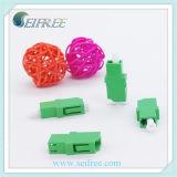 Adaptador de fibra ótica Simplex LC / APC para equipamento óptico Gpon FTTH