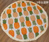 中国の卸し売り曼荼羅のRoundieタオルのふさのフリンジが付いている100%年の綿の円形のビーチタオル