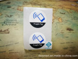 MIFARE NFCのステッカーの札RFID Ntag213はまたはぬれたHfペット象眼細工乾燥する