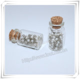 Botella religiosa del metal, botella de cristal redonda, botella cruzada, botella del rosario (IO-p035)